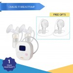 Promo July - Cimilre F1 Rechargeble Double Breast Pump x 6